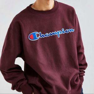 Maroon Champion Sweatshirt